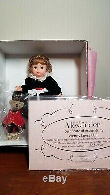 Madame Alexander Wendy Loves FAO