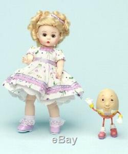 Madame Alexander Wendy Loves Humpty Dumpty 8 Doll Nursery Rhyme Coll #50570 Nib