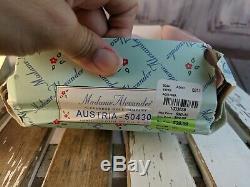 Madame Alexander doll 8 new nib austria 50430 international collection