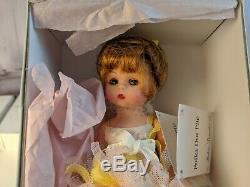 Madame Alexander doll 8 new nib polka dot plie 40285 ballerina yellow