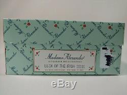 Madame Alexander doll LUCK OF THE IRISH #38595 nib 6-8 inch 1970-now leprechaun
