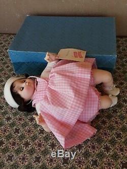 Madame Alexander vintage Baby Sister 15 doll NIB box hang tag 1000s+feedback