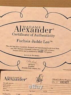Madame alexander 16 Alex Fuchsia Jadde Lee Doll2003NIB