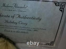 Madame alexander doll holiday cissy has everything here it's #522 out of 700