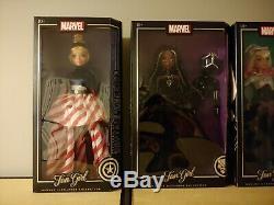 Marvel Fan girl dolls set of 5 Madame Alexander 13.5 NiB