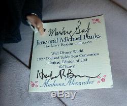 Mdme Alexander 8 Michael & Jane Banks Ltd Ed # 30/200 Mary Poppins -1999