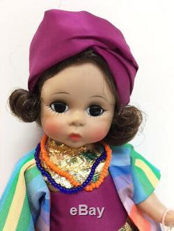 Mint Madame Alexander VINTAGE 8 MOROCCO Moroccan Girl Bent Knee Doll Box & Tag