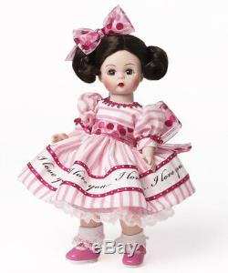 NEW in Box Madame Alexander I Love You Wendy Valentine's Day Doll