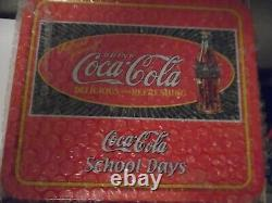 NIB 2001 Madame Alexander School Days Coca-Cola Doll 8 Lunch Box