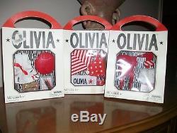 NIB 2003 MADAME ALEXANDER OLIVIA 3 outfits New