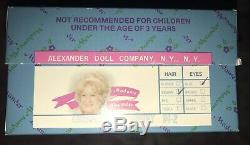 NIB Madame Alexander Doll Company Emerald City Dorothy #94-2 Toto Vintage