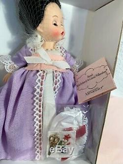NIB Madame Alexander HANNAH Colonial Williamsburg 8 Doll Limited Edition