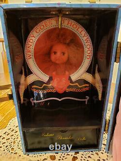NIB Madame Alexander Hollywood Trunk Doll & 4 Outfits & Doll Trunk NEW MINT
