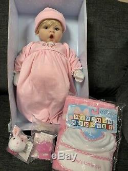 NIB Madame Alexander Middleton Cuddle Baby Newborn Nursery Girl Doll + Extras