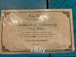 NIB, RARE Limited Edition Madame Alexander 21 Cissy MILAN With COA 1998 MINT