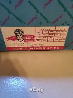 NIB Vintage Boxed Madame Alexander Doll #559