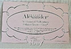NRFB 2008 Madame Alexander 85th ANNIV. DOLL 21 Brilliant Cascade Cissy 106/150