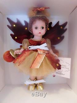 New! 2001 Lillian Vernon Exclusive Madame Alexander 8 Autumn Fairy 32040 NRFB