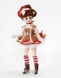 New Madame Alexander 10'' Gingerbread Coquette #71275 Doll Retired NRFB