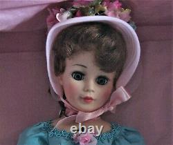 New Madame Alexander Agatha Portrait Doll Blue Dress 21 Orig. Box with Tag