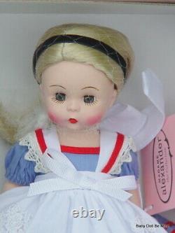 New Madame Alexander Alice in Wonderland Blonde 8 Inch Doll 42425