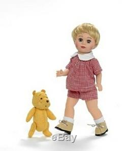 New Madame Alexander Christopher Robin Jack and Classic Winnie The Pooh Disney
