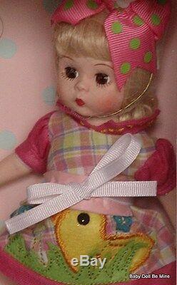 New Madame Alexander Egg-Cellent Easter Doll 8 Doll