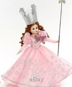 New Madame Alexander Wizard of Oz Glinda Good WItch & Lullaby League 75 Ann 10