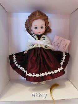 New! Rare Madame Alexander 8 Doll Lenox Holiday Limited Edition 31725 Coa Nrfb