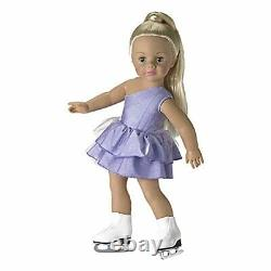 New in Box Madame Alexander Jazzy Ice Skater 18 play doll # 68595 Retired