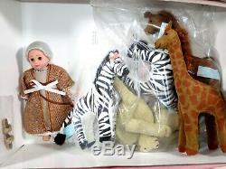 Nib Madame Alexander Doll 8 Noah's Ark #33155 Giraffe Zebra Camel