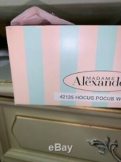 Nmib 2000 Madame Alexander Hocus Pocus Wonder #42125 Nrfb Nib Perfect Condition