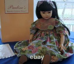 Pauline's Limited Edition Porcelain Doll Wendy 663/950 Mint Condition