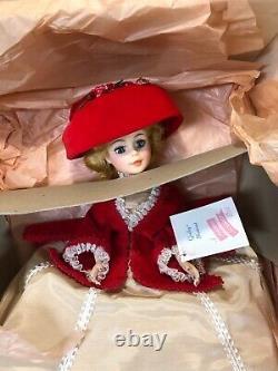Pristine Mint In Box 21 Portrait #2298 Madame Alexander 1977 Godey/red Velvet