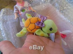 RARE Madame Alexander Doll Storyland Collection Plush Tortoise and the Hare NIB