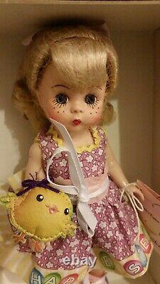 RRD Madame Alexander NEW 8 Doll Wendy's Easter Egg Hunt 64485
