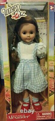 RRD Madame Alexander New 18 Doll Wizard of Oz Dorothy 49715