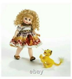RRD Madame Alexander New 8 Doll Wendy Loves the Lion King 40340