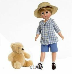 Rare Htf Madame Alexander 12 Lissy Christopher Robin & Pooh Bear 47455 Coa Nrfb