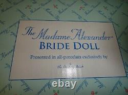 The'1947' MADAME ALEXANDER Bride Doll NEW! A1054