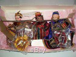 The Three Wise Men Nativity Set by Madame Alexander #19480 Mint