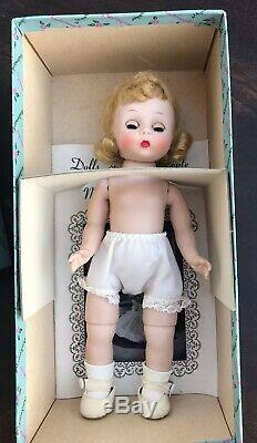 VNTG Madame Alexanderkins BKW doll Blonde Triple Stitch Flip Wig Mint In Box