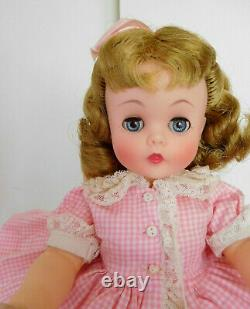 Vintage 1950's Gorgeous Alexander 15 Kelly Vinyl High Color Mint with Tags