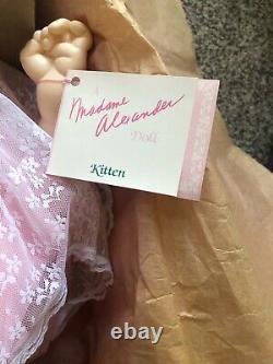 Vintage Madame Alexander 1962 Kitten Baby Doll # 5310 In Original Box 18 MIB