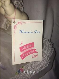 Vintage Madame Alexander 1973 Mommies Pet Baby Doll New 20