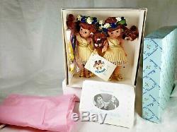 Vintage Madame Alexander Gemini Twins Dolls Nib