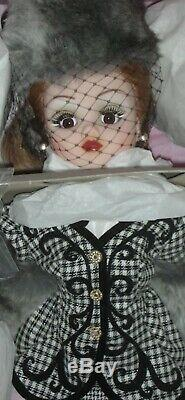 Vintage Madame Alexander Houndstooth Cissy Doll MIB 21