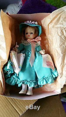 Vintage Madame Alexander Lucinda Doll #1535 Nib