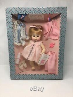 Vintage Madame Alexander Sweet Tears Layette Set Doll NIB Straw. Blonde Rare