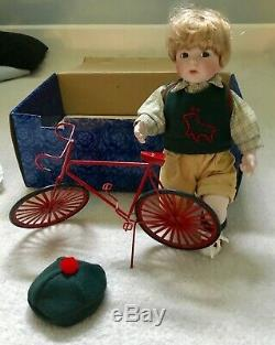 Vintage NIB Dolls TREVOR Doll Boy Bike Had Outfit Unique Rare